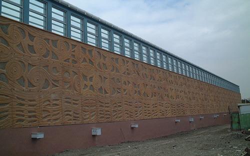 松山機場隔音牆